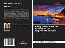 Обложка New proposals for the development of responsible tourism