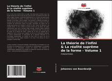 Borítókép a  La théorie de l'infini & La réalité suprême de la forme - Volume 1 - hoz