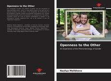 Bookcover of Openness to the Other