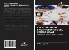 Copertina di CARATTERISTICHE EPIDEMIOLOGICHE DEL CANCRO ORALE