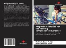 Bookcover of Proposed exercises for the reading comprehension process