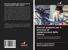 Copertina di Esercizi proposti per il processo di comprensione della lettura