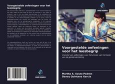 Bookcover of Voorgestelde oefeningen voor het leesbegrip