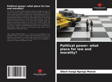 Political power: what place for law and morality?的封面