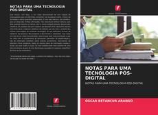 NOTAS PARA UMA TECNOLOGIA PÓS-DIGITAL kitap kapağı