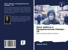 Couverture de Опыт работы в Пандемическом Ковиде - 19