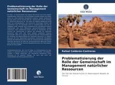 Copertina di Problematisierung der Rolle der Gemeinschaft im Management natürlicher Ressourcen