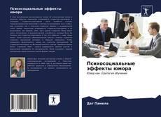Buchcover von Психосоциальные эффекты юмора