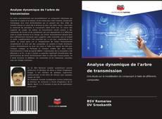 Bookcover of Analyse dynamique de l'arbre de transmission