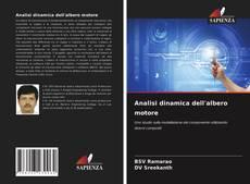 Bookcover of Analisi dinamica dell'albero motore