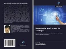 Bookcover of Dynamische analyse van de aandrijfas