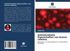 Bookcover of Antimikrobielle Eigenschaften von Acorus calamus