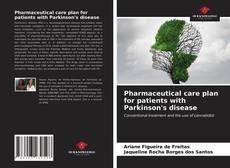 Buchcover von Pharmaceutical care plan for patients with Parkinson's disease
