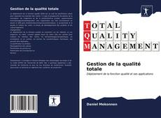 Buchcover von Gestion de la qualité totale
