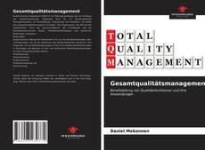 Capa do livro de Gesamtqualitätsmanagement