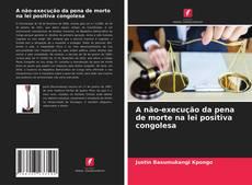 Обложка A não-execução da pena de morte na lei positiva congolesa