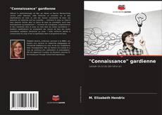"""Обложка """"Connaissance"""" gardienne"""