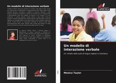 Copertina di Un modello di interazione verbale