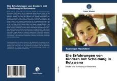 Bookcover of Die Erfahrungen von Kindern mit Scheidung in Botswana