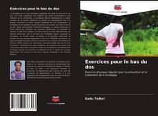 Capa do livro de Exercices pour le bas du dos