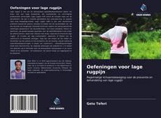 Bookcover of Oefeningen voor lage rugpijn