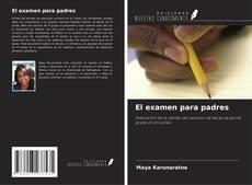 Capa do livro de El examen para padres