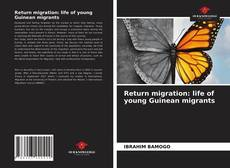 Buchcover von Return migration: life of young Guinean migrants