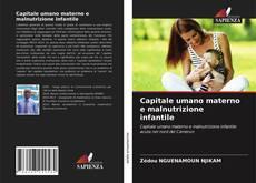 Buchcover von Capitale umano materno e malnutrizione infantile