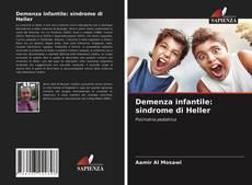 Couverture de Demenza infantile: sindrome di Heller