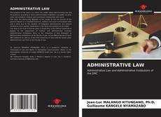 Bookcover of ADMINISTRATIVE LAW