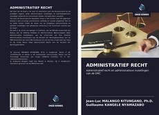 Buchcover von ADMINISTRATIEF RECHT