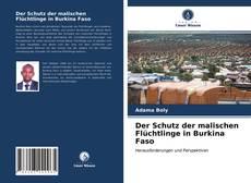 Bookcover of Der Schutz der malischen Flüchtlinge in Burkina Faso