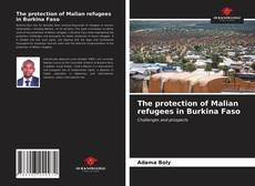 Bookcover of The protection of Malian refugees in Burkina Faso