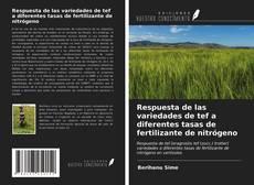 Couverture de Respuesta de las variedades de tef a diferentes tasas de fertilizante de nitrógeno