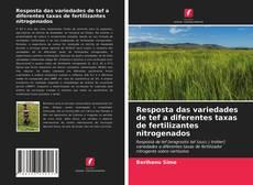 Bookcover of Resposta das variedades de tef a diferentes taxas de fertilizantes nitrogenados
