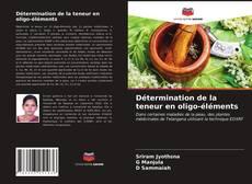 Borítókép a  Détermination de la teneur en oligo-éléments - hoz