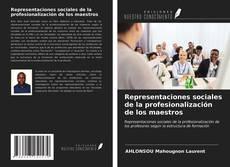 Portada del libro de Representaciones sociales de la profesionalización de los maestros