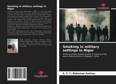 Copertina di Smoking in military settings in Niger