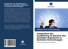 Copertina di Integration der Ausbildung im Bereich des geistigen Eigentums in tertiären Einrichtungen