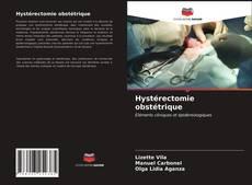 Hystérectomie obstétrique kitap kapağı
