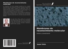 Membranas de reconocimiento molecular的封面