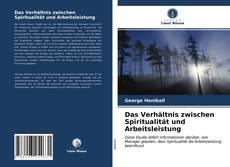 Buchcover von Das Verhältnis zwischen Spiritualität und Arbeitsleistung