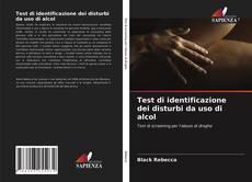 Capa do livro de Test di identificazione dei disturbi da uso di alcol