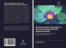 Kunstzinnige therapie in de psychosomatische geneeskunde kitap kapağı