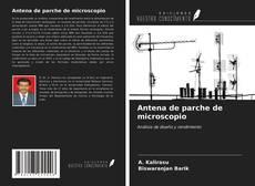 Antena de parche de microscopio kitap kapağı