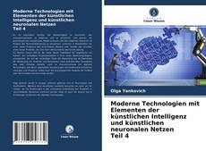 Capa do livro de Moderne Technologien mit Elementen der künstlichen Intelligenz und künstlichen neuronalen Netzen Teil 4