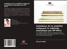 Validation de la stabilité indiquant la méthode analytique par RP-HPLC kitap kapağı
