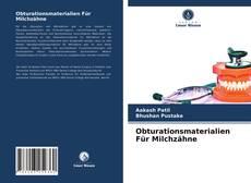 Capa do livro de Obturationsmaterialien Für Milchzähne