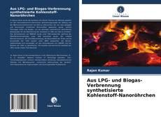 Capa do livro de Aus LPG- und Biogas-Verbrennung synthetisierte Kohlenstoff-Nanoröhrchen