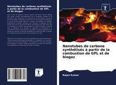 Couverture de Nanotubes de carbone synthétisés à partir de la combustion de GPL et de biogaz